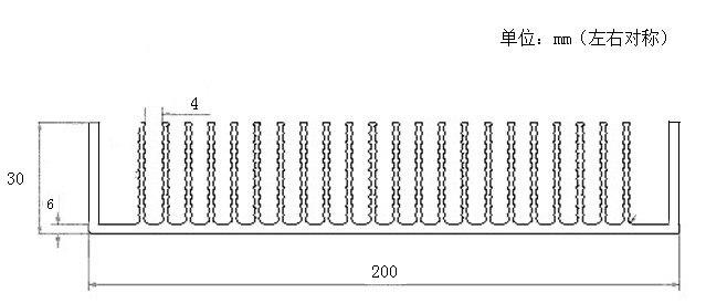 Fast Free Ship 380*200*30 Aluminium alloy heat radiator