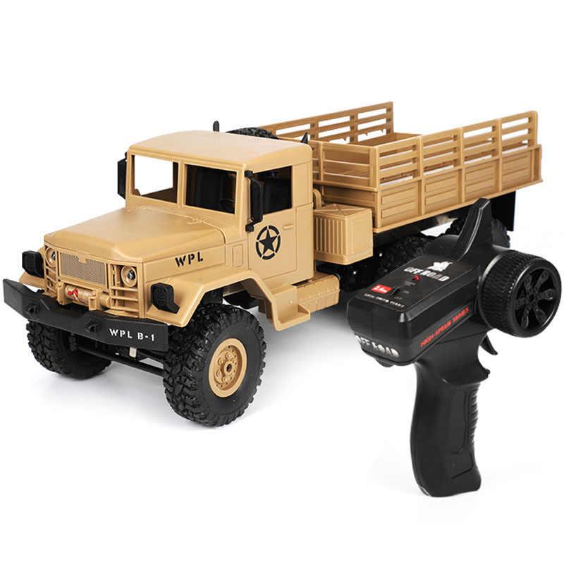 مركبة يتم التحكم بها عن بُعد سيارة التحكم عن بعد الناقل العسكري على الطرق الوعرة الوحش 6WD التكتيكية 2.4G روك الزاحف ألعاب إلكترونية للأطفال هدية