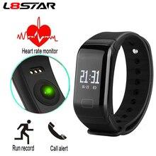 L8STAR R3C Fitness Tracker Blood Pressure Oxygen HR Heart Rate Smart Bracelet Waterproof Sports Band VS Xiaomi Mi Band 3