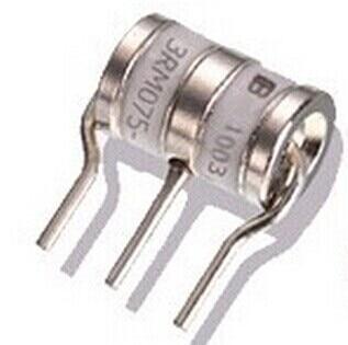 50pcs/lot  Ceramic gas discharge tube lightning C8M07R 75V 3R075 10KA 8X10mm original authentic