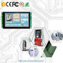 MCU RS232 RS485 port Open Frame LCD display panel for touch controller text display op320 op320 s op operate panel with rs232 rs485 rs422 for plc