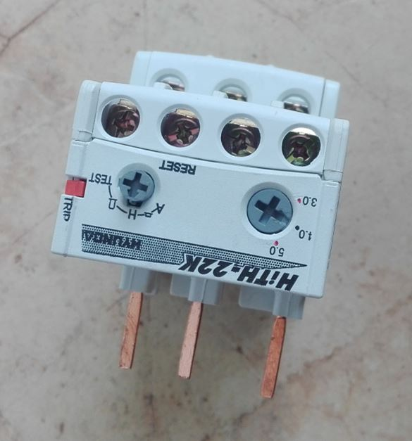 HiTH22K,HiTH-22K, 3.0~5.0A (NEW,Now sales)  HOR1K(OLD, Stop the supply),HYUNDAI Thermal Overload Relay,New original authentic