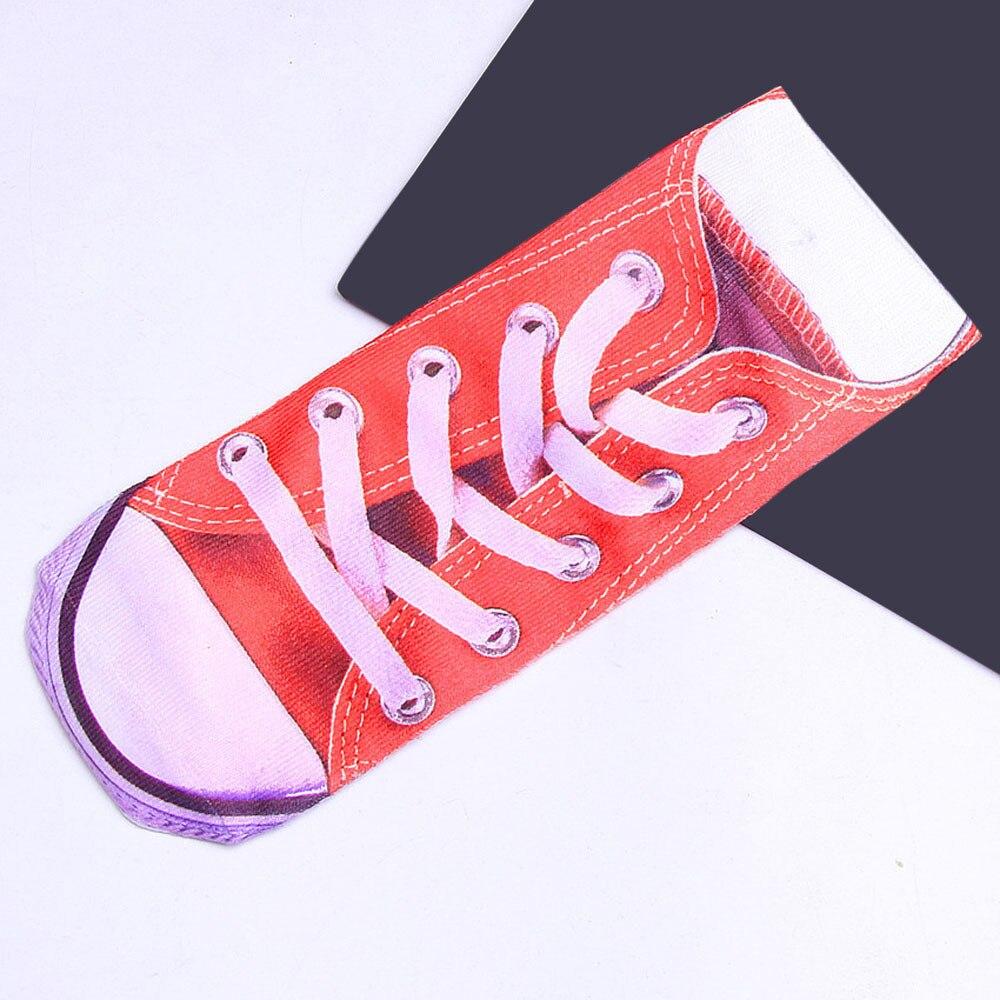 Funny 3D Printed Cotton Skeleton   Socks   Short Women Novelty   Socks   Animal Cute Funny Low Cut Ankle   Socks   Men