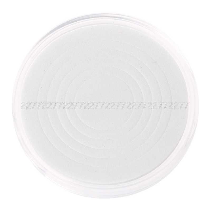 46 milímetros Titular Moeda de Plástico Cápsula De Armazenamento Caso Caixa De Exibição Com 5 Tamanhos Anéis Pad JUN21 dropship