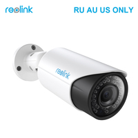 Reolink Surveillance Camera 4MP PoE Autofocus 4x Optical Zoom HD Outdoor Bullet IP Camera For Church