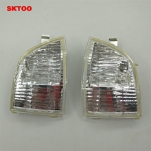 цена на SKTOO Car Rear View Mirror turn signal Light For Ford Focus C-MAX 2003-2013
