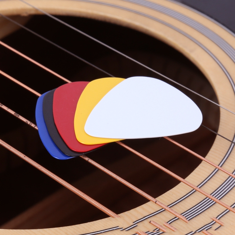 10pcs 0.46mm Guitar Picks High Stamping Quality Guitar Paddle Acoustic Electric Palheta Thickness DIY Picks Parts two way regulating lever acoustic classical electric guitar neck truss rod adjustment core guitar parts