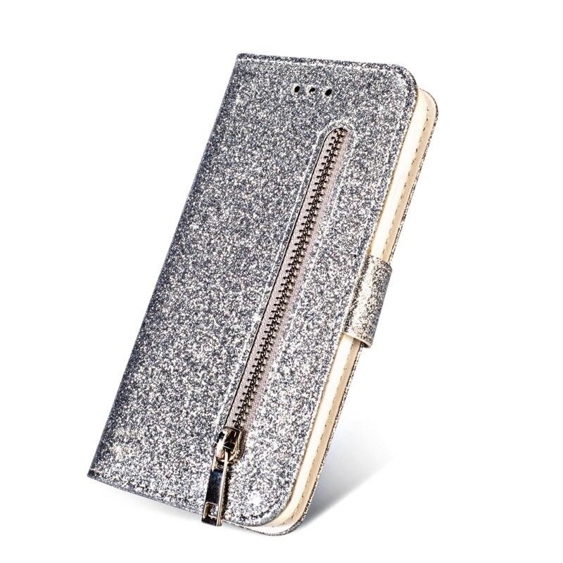 HTB1OgwTaJzvK1RkSnfoq6zMwVXa0 Wallet PU Leather Case For Samsung Galaxy S11 S10 E S9 S8 Plus S6 S7 Edge Note 10 Pro 8 9 Glitter Silicone Card Slot Flip Cover