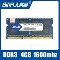 Бесплатная Доставка DDR3 4 ГБ 1600 МГц PC3-12800 SODIMM memoria оперативной памяти ddr3 Intel Оперативной Памяти Для компьютера Ноутбука ноутбук Памяти