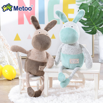 Мягкая плюшевая игрушка ослик Metoo 2