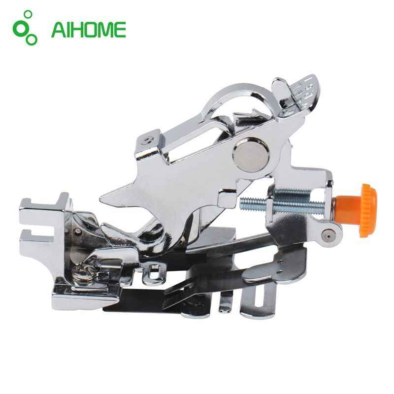 1pcs Ruffler Hem Presser Foot Feet For Sewing Machine Singer Janome Kenmore Juki Toyota DIY Tools Sewing Machine Presser Foot