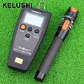KELUSHI FTTH fiber optic tool fiber optical power meter APM-820 with 10mW visual fault locator Fiber cable tester 2 in 1 tester