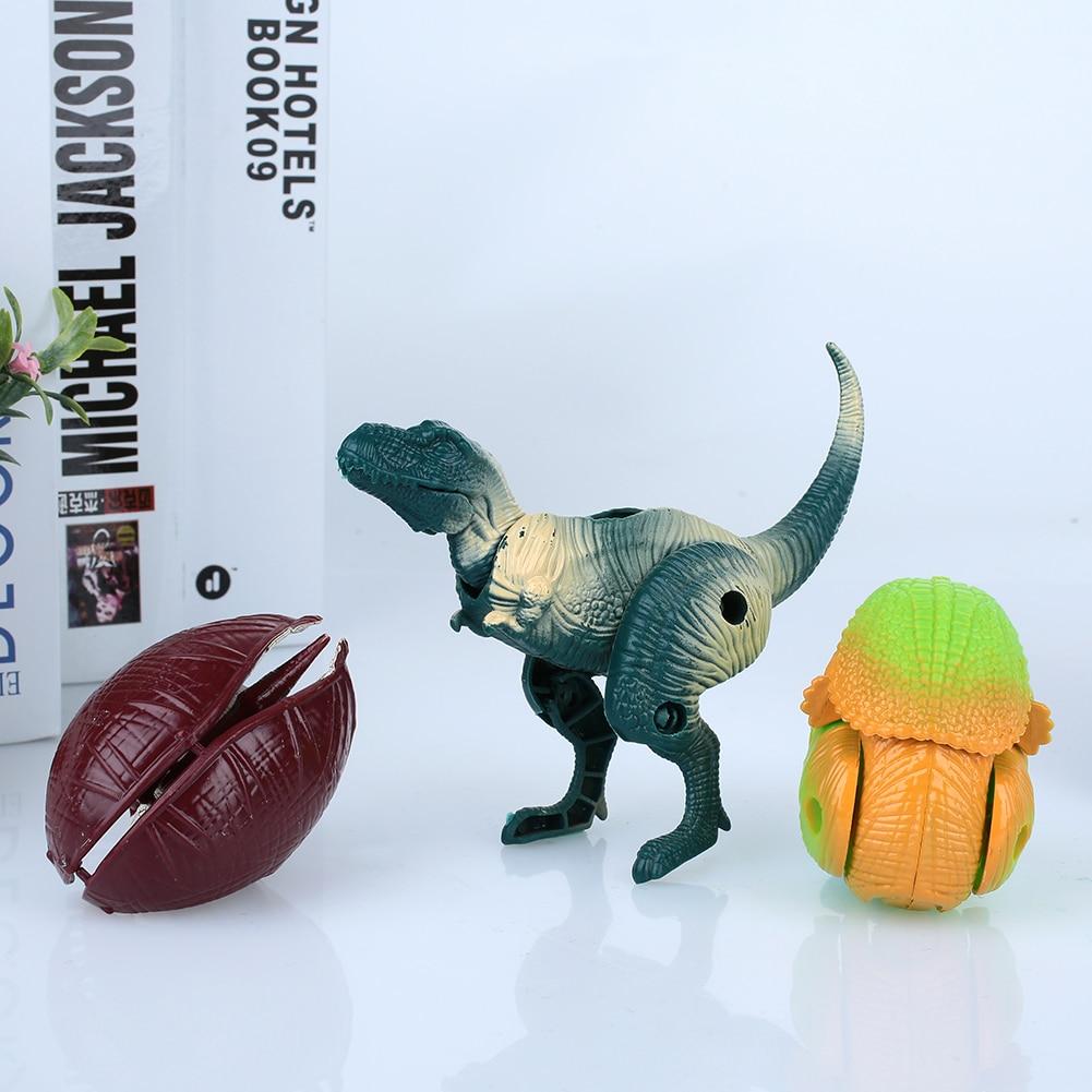 Маленькое деформированное яйцо динозавра модель украшения Твердые яйцо динозавров для яйцо динозавра Прямая