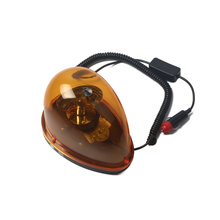 High Power Rotating Warning Beacon Emergency Lights for Police Ambulance Fireman with Magnetic 12V DC high quality 12v 24v dc 120cm rotate emergency lightbar warning light bar for police ambulance fire waterproof