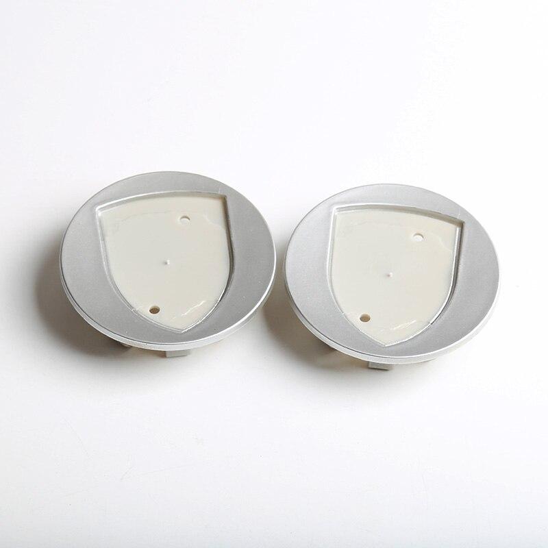 20 pcs Black Silver Grey Chrome Wheel center hub caps emblem Logo 65 for Porsche car