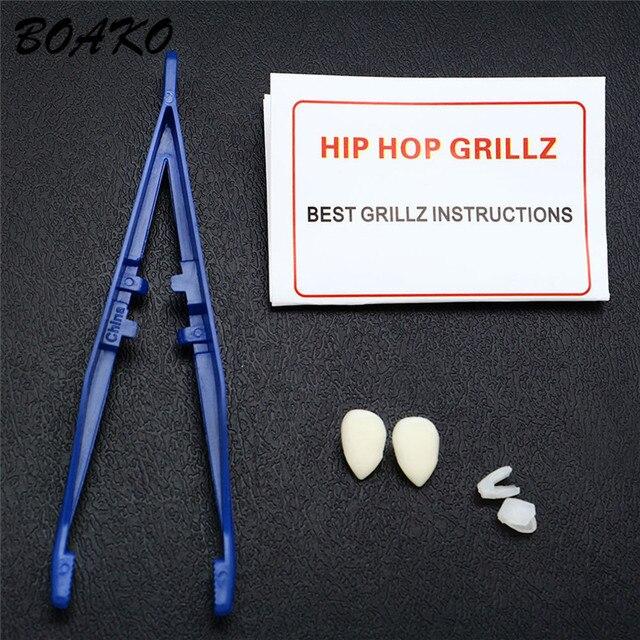 BOAKO Hip Hop Vampire Teeth...