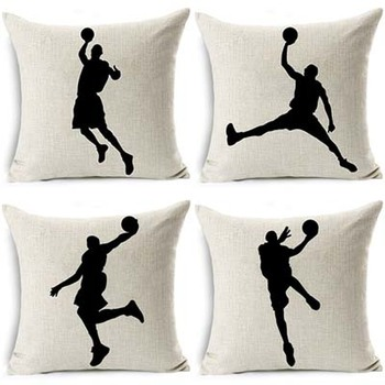Shadow Basketball Cushion Cover
