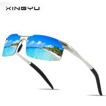 Mens Polarized Sunglasses  mirror Dustproof glasses Sports sunglasses All aluminum magnesium series classic style