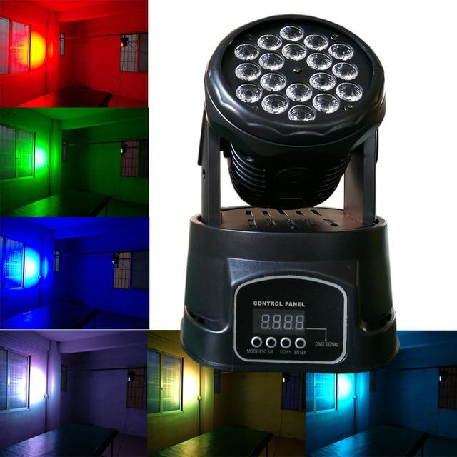 18*3W Led Moving Head Wash Light 60W RGB Led Moving Head DMX Mini Led  sc 1 st  AliExpress.com & 18*3W Led Moving Head Wash Light 60W RGB Led Moving Head DMX Mini ...