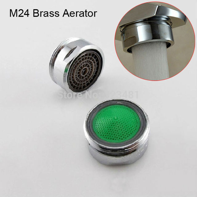 Factory M28 M24 M22 Brass water Faucet Aerator for mixer Chrome ...