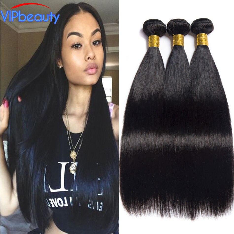 Vip beauty Peruvian straight hair 100 human hair bundles non remy human hair weave hair extension