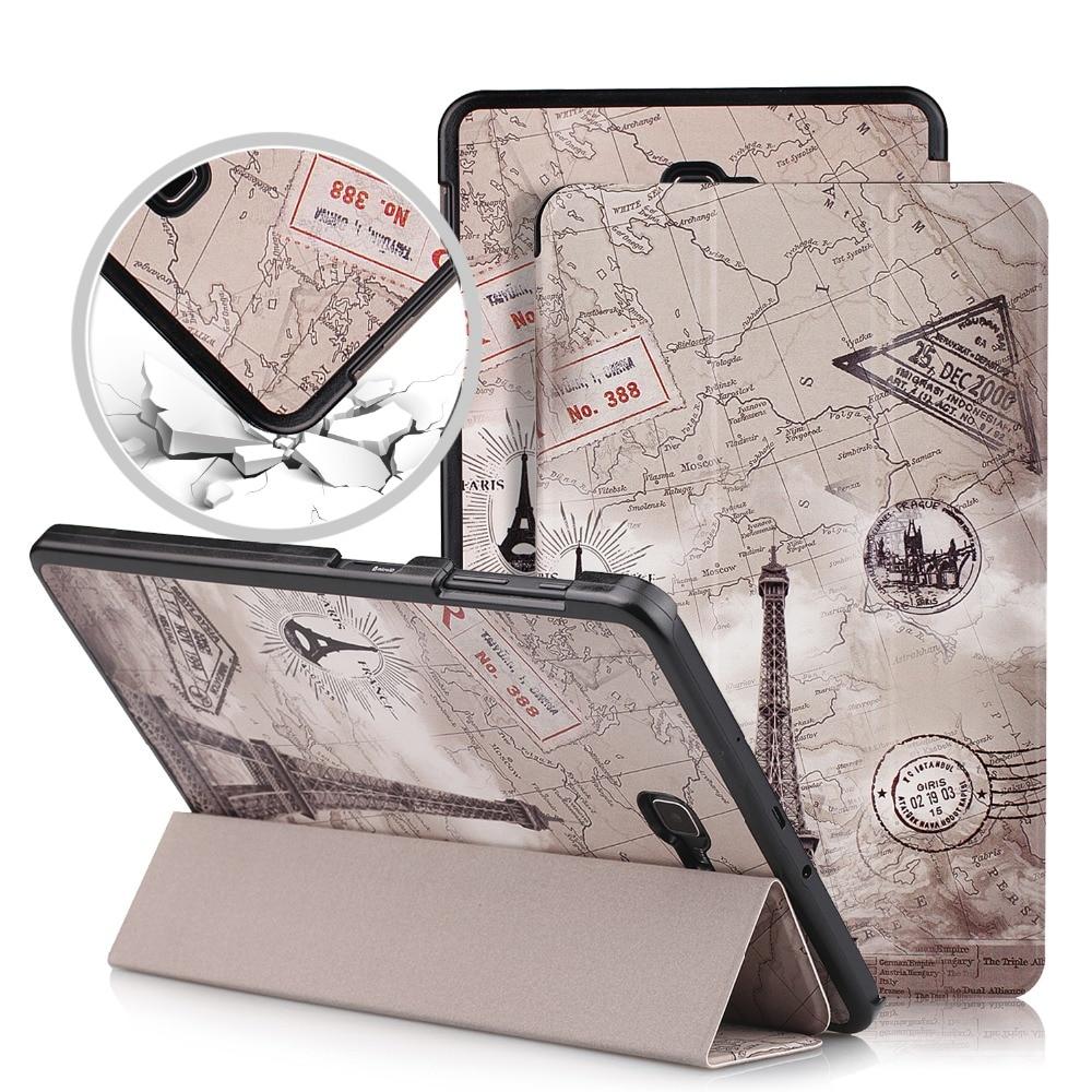 Tablet-zubehör Tri-klapp Ständer Fall Für Samsung Galaxy Tab A6 10,1 Sm-t580 Sm-t585 Smart Cover Auto Wake Up-schlaf Warmes Lob Von Kunden Zu Gewinnen