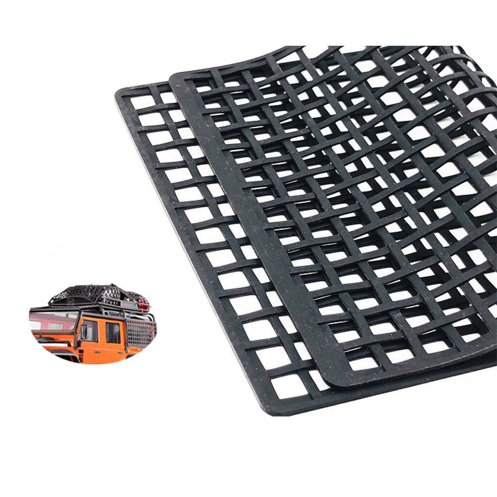 DJX Rubber Luggage Net Window Decoration for RC Car Axial Wraith Scx10 90046