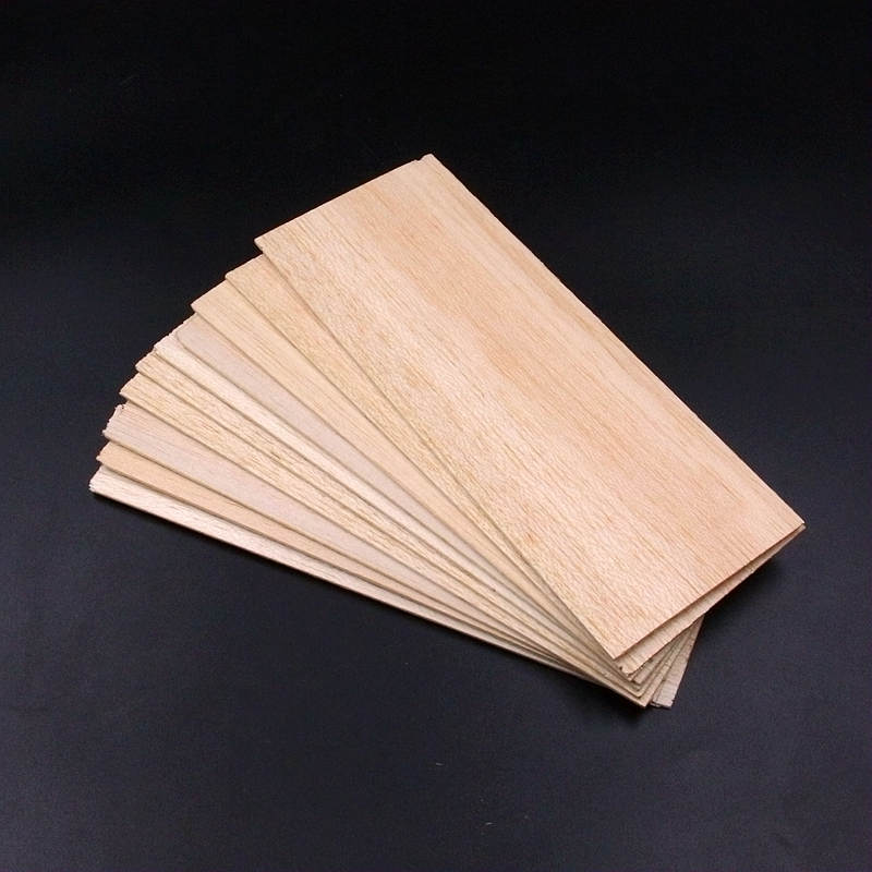 5pcs/lot balsa wood sheet 200mm*80mm*1.5mm light weight 4g for RC hobby aircraft DIY super quality 600 or 300mm long 300mm wide 2 3 4 5 6 8mm thick aaa balsa wood sheet splicing board for airplane boat diy