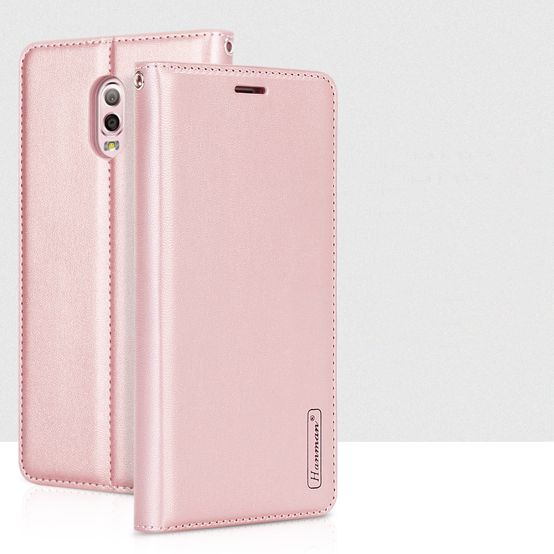 Hanman For Samsung Galaxy C7 2017 C710 Luxury Leather Wallet Case Silicon Back Cover Card Slot Case for Samsung Galaxy J7 Plus