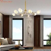 Nordic Chandeliers Lighting Living room Bedroom Luxury Hotel Chandelier Hanging lustre Restaurant Modern Lights Fixtures Lamp