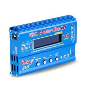 Image 3 - Chargeur de batterie Imax B6 12v 80W chargeur déquilibre Lipro NiMh Li ion ni cd chargeur RC numérique 12v 6A adaptateur secteur chargeur ue/US