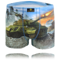 3D Print Cartoon War Tank Cotton Men Underwear Sexy Men Underpants Boxers Cotton Boxer Shorts  Underwear