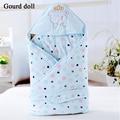 Детские хлопок камвольно пеленать обернуть мягкой конверты для новорожденных 0 - 9 мес. детское одеяло пеленальный мужская спальный мешок младенца sleepsack