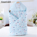 Baby cotton Worsted Swaddle Wrap Soft Envelopes for Newborns 0-9 Month Baby Blanket Swaddle Unisex Sleeping Bag Infant sleepsack