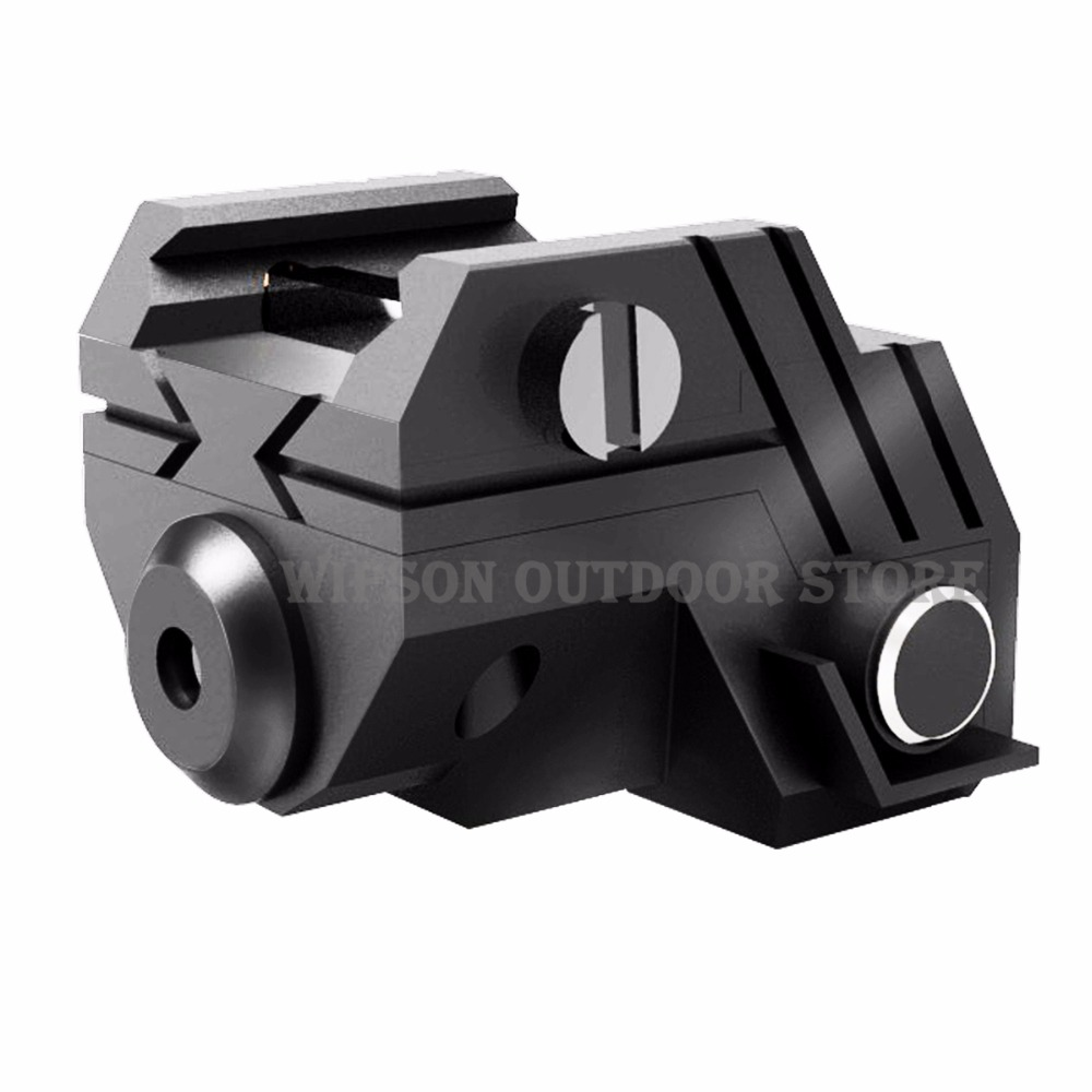 Tactical Low Sight Super Laser Red Profile