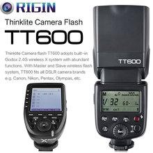 Godox TT600 GN60 HSS 1/8000s Camera Flash Speedlite+2.4G Wireless X System Xpro-N Transmitter Kit For Nikon