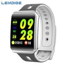 LEMDIOE SmartWatch women men heart rate blood pressure monitor Life Waterproof pedometer watch