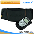 SUNMAS Belt AB Gymnic Electric TENS Body Massager Belt Tools Professional Electro Muscle Stimulation