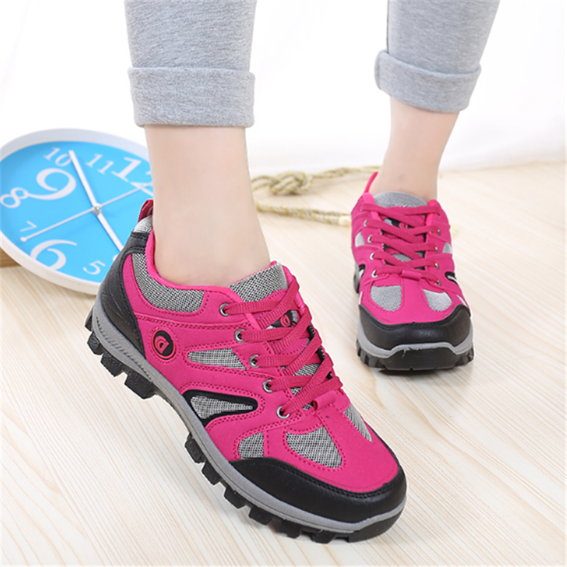 2018 woman outdoor non-slip air damping tenis feminino casual shoes woman Casual shoes Work shoes shoes Brand fashion Sneakers france tigergrip waterproof work safety shoes woman and man soft sole rubber kitchen sea food shop non slip chef shoes cover