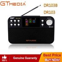Professional Black GTMedia DR103B Digital FM Radio DAB+Radio Stero For UK EU With Bluetooth Built in Loudspeaker Color screen