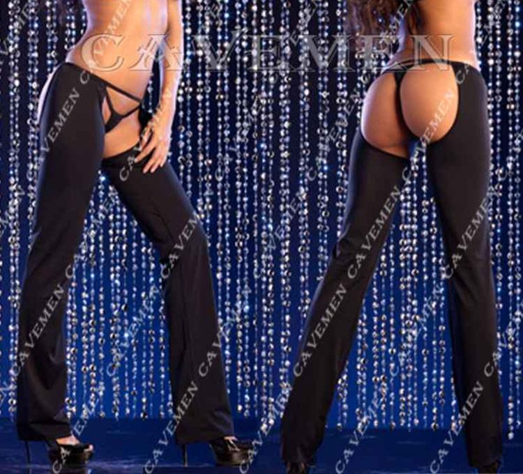 Bare buttocks Two sets* 2681 *sexy G-string T-back Teddy Bikini Boxer Triangle Pajamas Skirt Suit Middle trousers Free Shipping