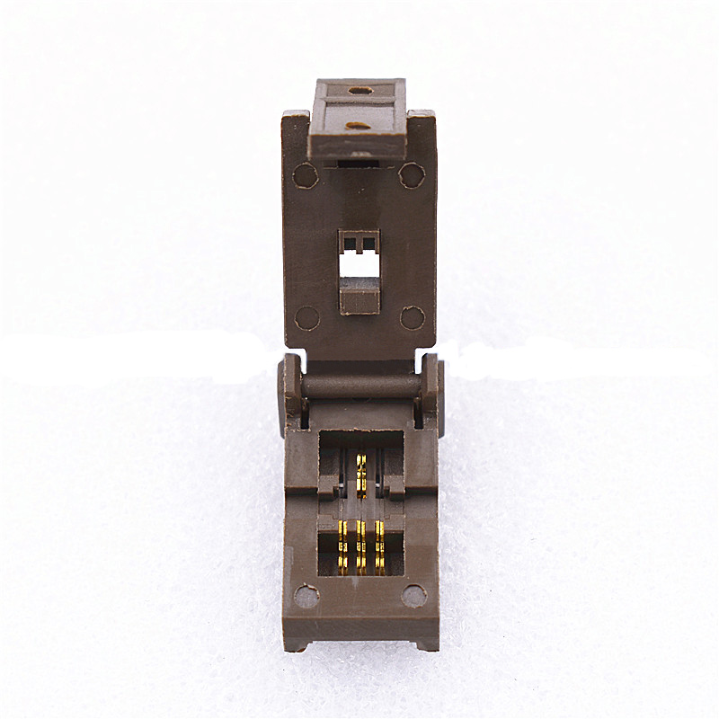 SOT89-3L Burn in socket pin pitch 1.5mm IC body size 2.5 mm Kelivn clamshell test programming adapter original socketSOT89-3L Burn in socket pin pitch 1.5mm IC body size 2.5 mm Kelivn clamshell test programming adapter original socket