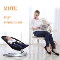 Baby Rocking Chair care infant sleep crib high quality Newborn Bouncers portable Swings multifunction Mute cradle baby bed chair