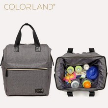 COLORLAND Backpack baby diaper bag nappy bags Maternity mommy Handbag Changing Bag wet infant for babies care organizer