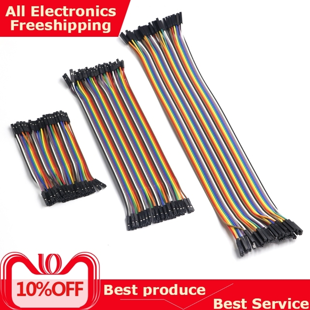 Dupont Line 10cm/20CM/30CM Male to Male+Female to Male + Female to Female Jumper Wire Dupont Cable