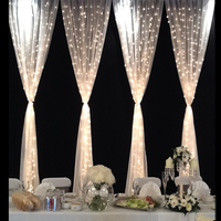 300leds Fairy String Icicle Led Curtain Light Xmas Christmas Wedding Garden Party Window Decor 220V 4