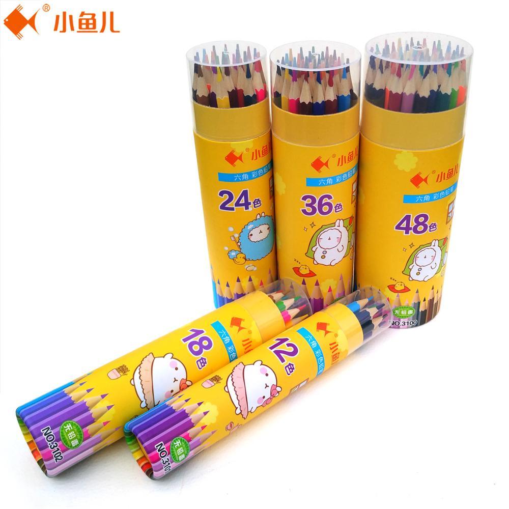 18.12 24/36/48 Barvni svinčnik Sketch Umetniške potrebščine 48 edinstvenih barv Umetnost Risba Oljni barvni svinčniki za odrasle pobarvanke