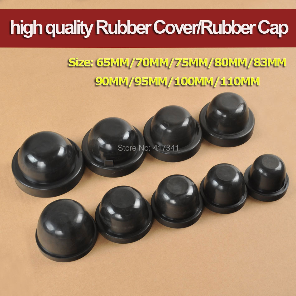 High Quality Upgrade Thickness Rubber Cover Rubber Cap for Waterproof Dustproof 65MM 75MM 80MM 83MM 90MM 95MM 100MM 110MM 65 95 55mm waterproof case