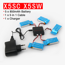 Syma X5SW RC Drone 3 7V 850mAh Lipo Battery FOR Syma X5SC RC Quadcopter RC Helicopter