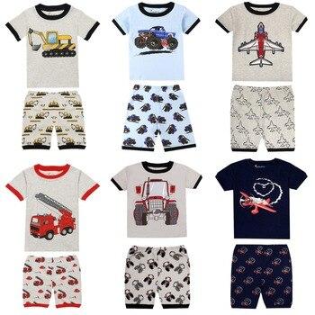12 colors summer pajamas sets children